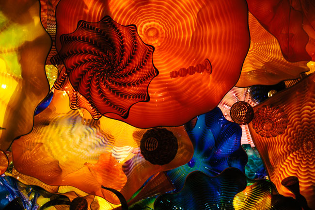 chihuly garden and glass seattle space needle