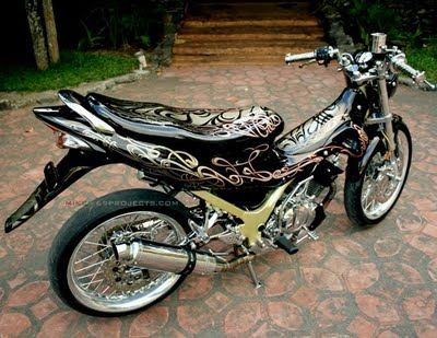 Modifikasi Motor on Modifikasi Motor Suzuki Satria Fu 150   Zutonx Blog