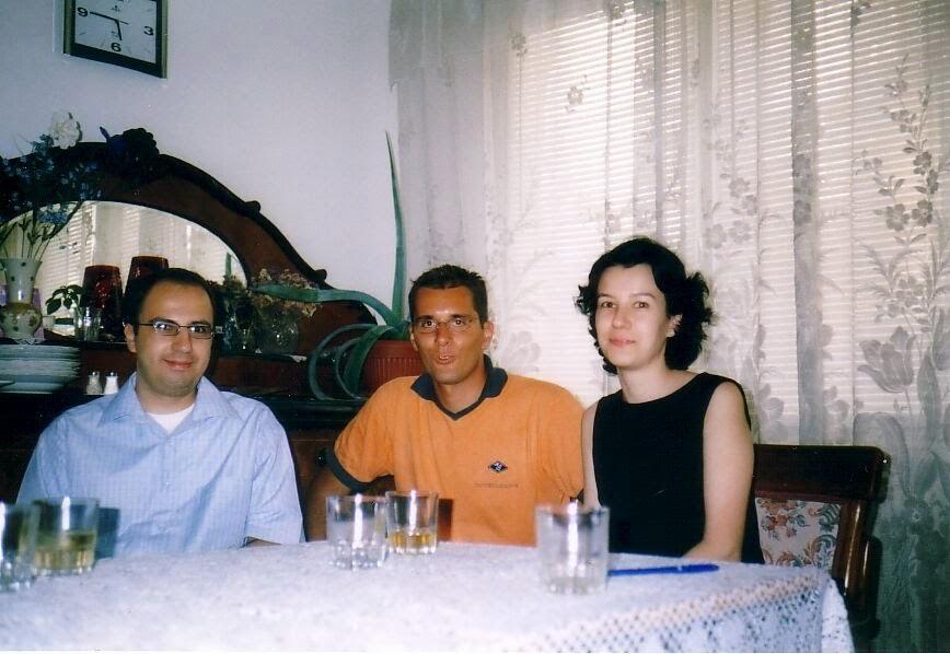 Sorin Tilie, Silviu Marcov, Olivia Maria Marcov, septembrie 2003 Bucuresti