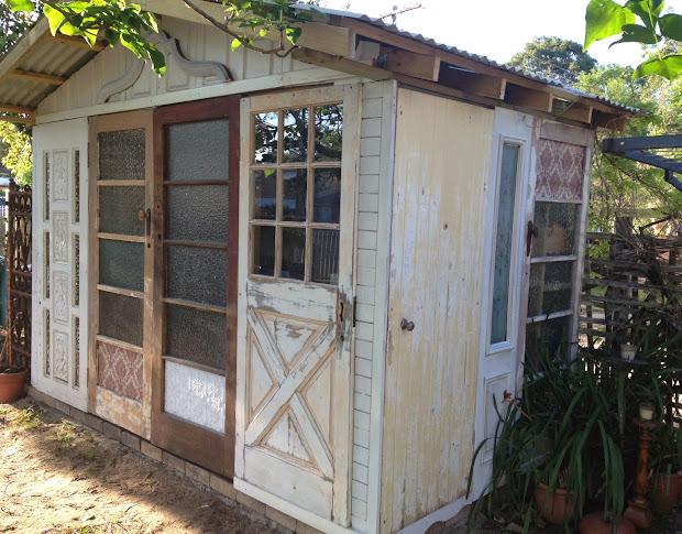 Recycled Garden Shed Door