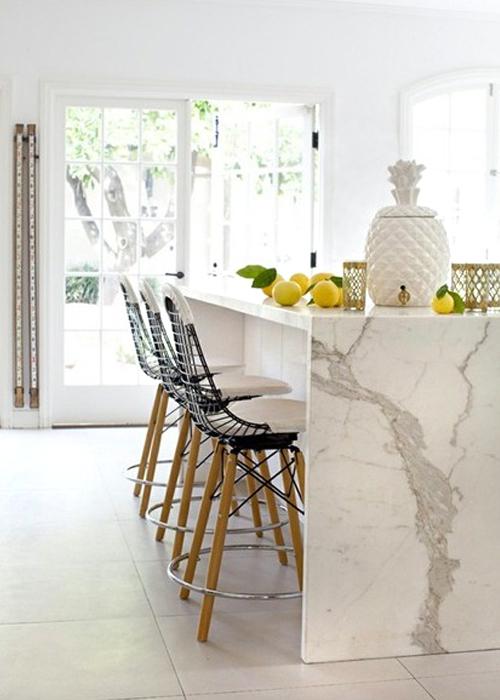 Chicdeco Blog | 10 bellas cocinas en mármol blanco10 beautiful ...