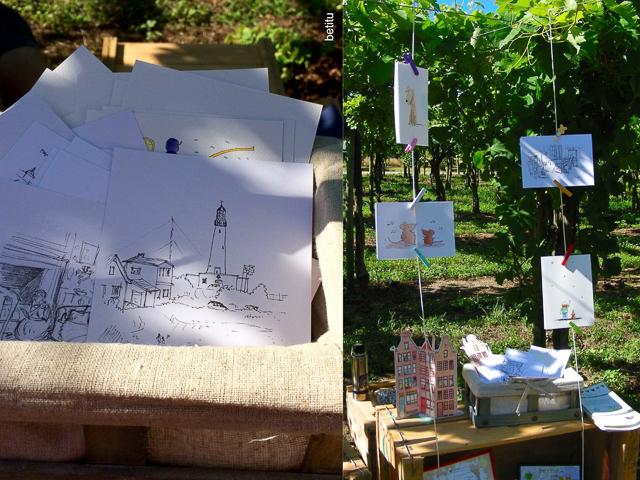 Feria los Hacedores - Postales betitu's quest
