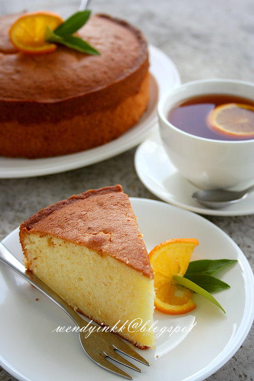 Citrus Cake With Lemon Whipped Cream Frosting