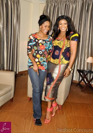 B.T.S of Omotola Jolade Ekeinde from CNN African Voices