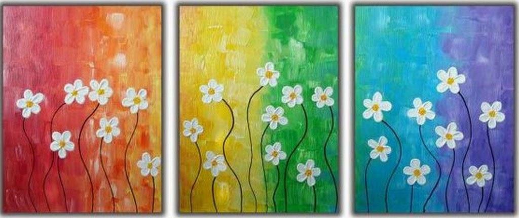 cuadros-modernos-de-flores-blancas