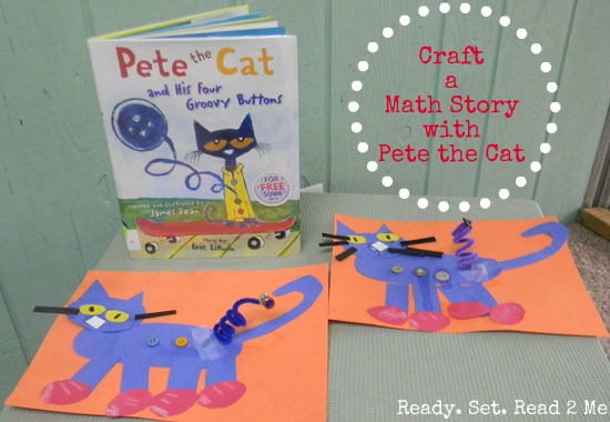 Pete the Cat Math with Ready Set Read  Make and Takes
