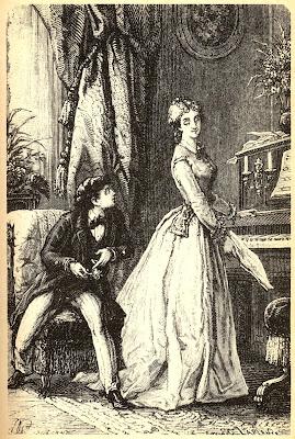 ilustración vintage pareja