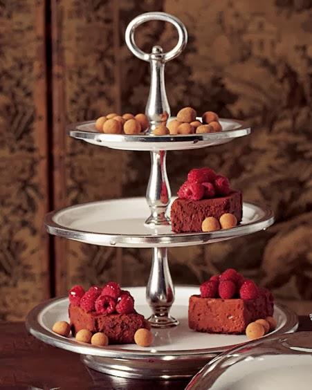افكار للضيافة - افكار لتقديم الحلويات والمعجنات - أفكار رائعة للضيافة