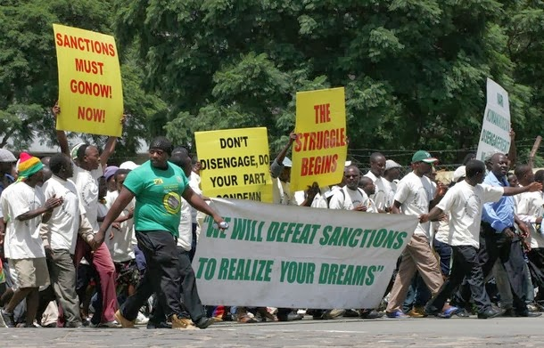 SANCTIONS ARE AN ATTACK ON ALL ZIMBABWEANS