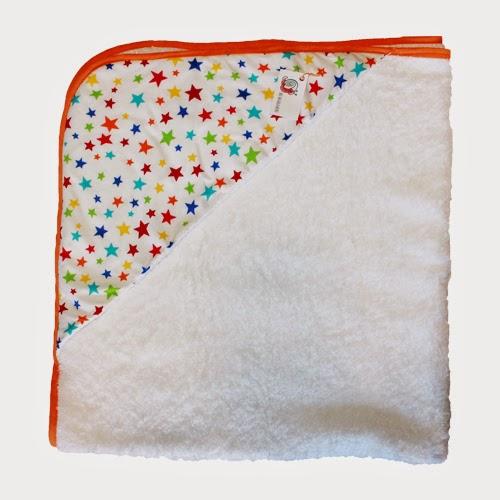 toalla para bebé estrellas