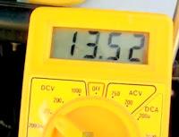 medindo a tensão dos fios