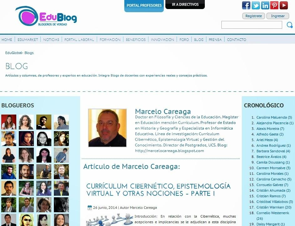 Artículo en Eduglobal