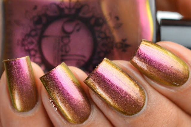 Spell Polish Old fogey swatch