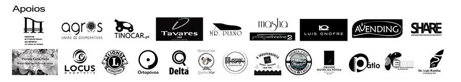 Apoios - XII Concurso de Piano da Póvoa de Varzim 2017
