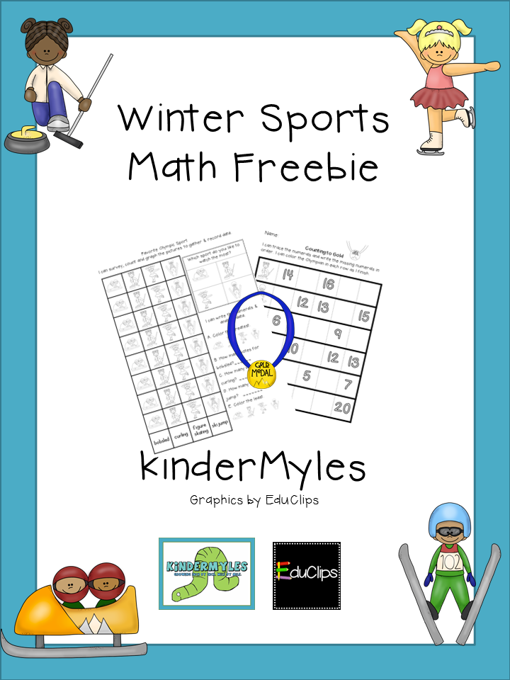 http://www.teacherspayteachers.com/Product/Winter-Sports-Math-Freebie-1114150