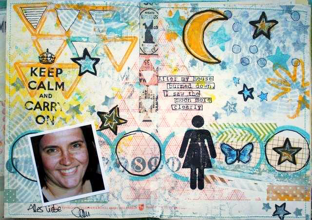 Mixed Media Montag | Designteam-Art Journal von Dani