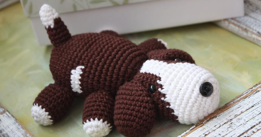 Amigurumi Animals Patterns Free : Amigurumi creations by Happyamigurumi: Amigurumi Puppy ...