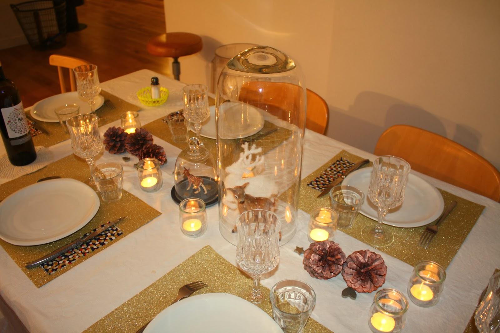 Caro inspiration novembre 2013 for Set de table dore