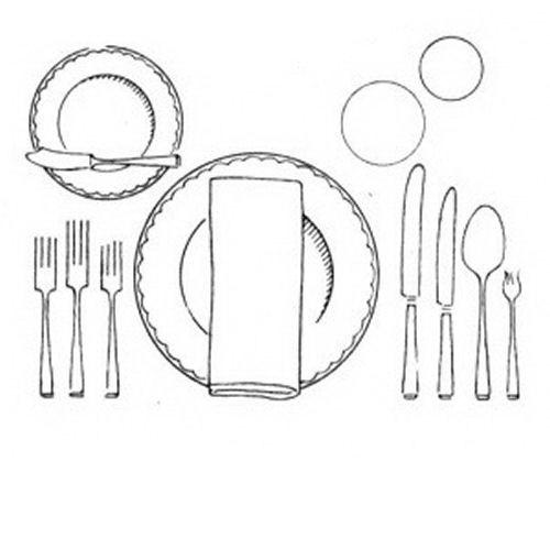 Dibujos de platos para colorear imagui for Platos para