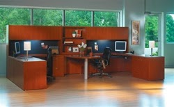 Mayline Aberdeen Modular Multi User Workstation