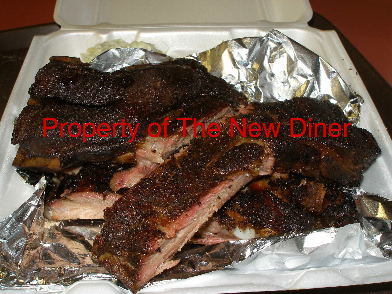 The New Diner: Tasty Q Bar-B-Que-Closed