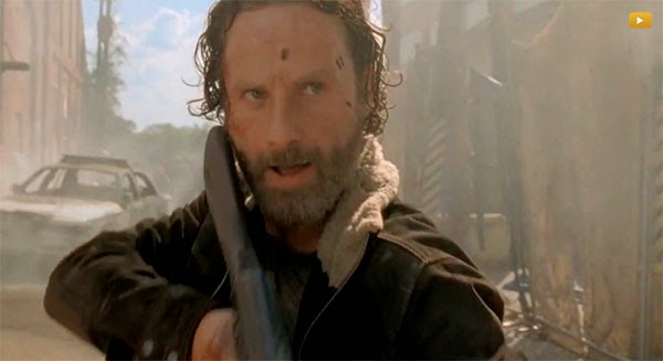 Rick, quinta temporada de The Walking Dead