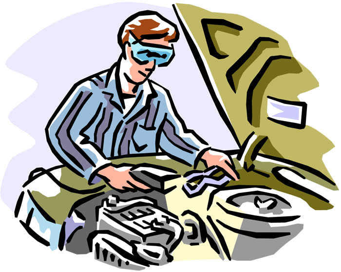Cartoon Car Repair Pictures