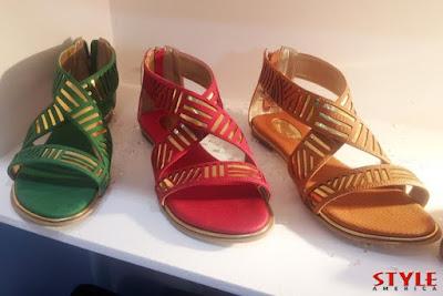 Sandalias muy modernas