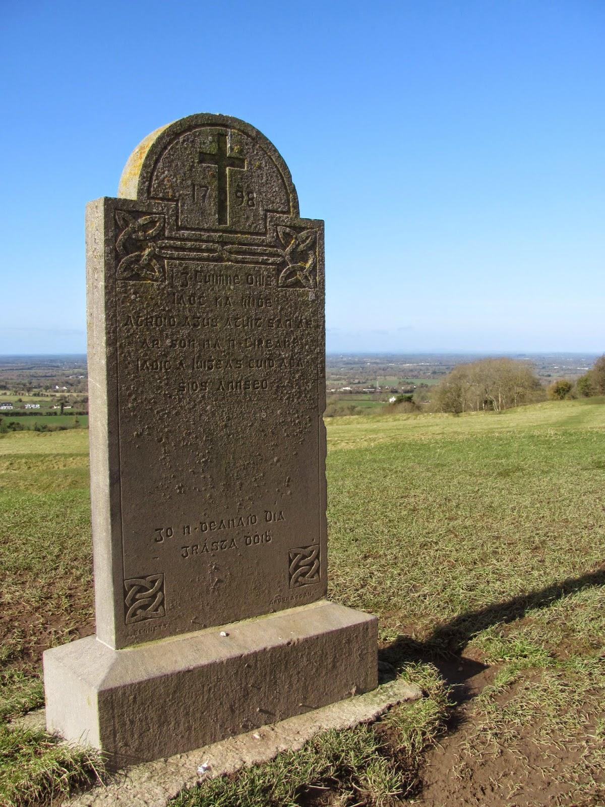 Hill of Tara Monument Co. Meath, Ireland
