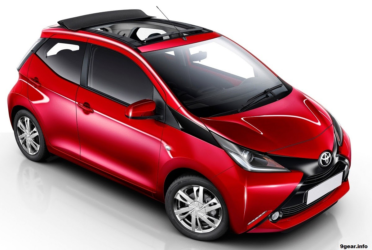 2015 toyota aygo x wave gets convertible roof car reviews new car pictures for 2018 2019. Black Bedroom Furniture Sets. Home Design Ideas
