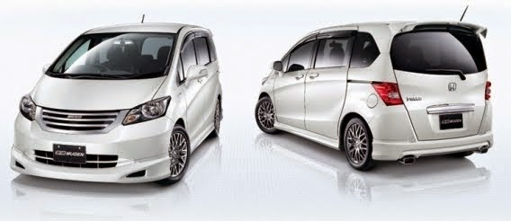dimensi honda freed