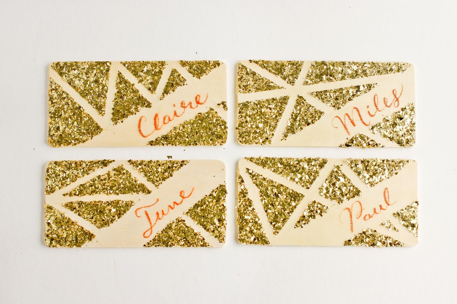 Красивые рассадочные карточки своими руками
