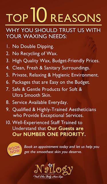 nailogy waxing, waxing, nailogy waxing services,