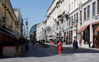 Calle peatonal, Moscú