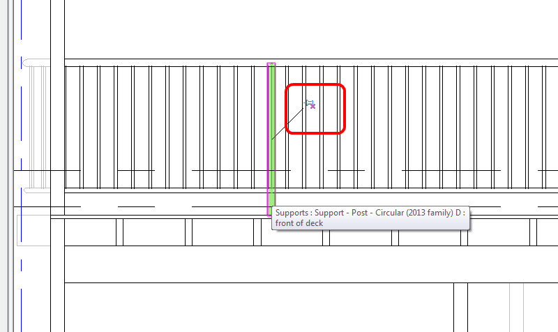 What Revit Wants Automatic And Manual Railing Support