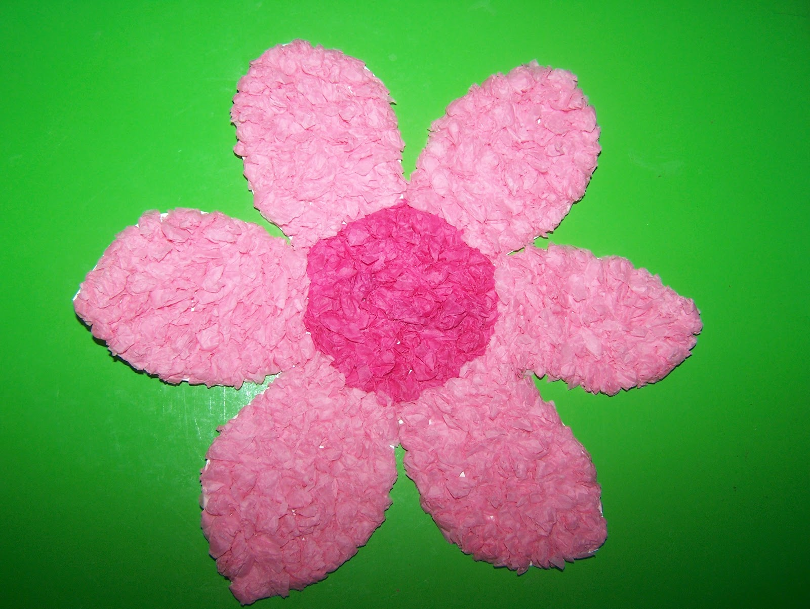 James&May Arts and Crafts Blog: Tissue Paper Flowers