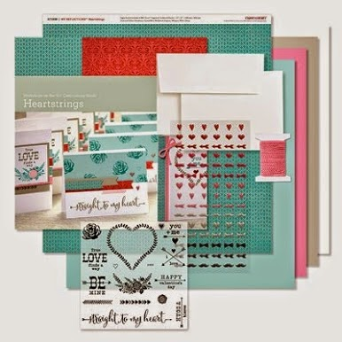 Heart Strings Card Making Kit