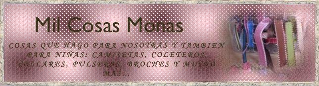 Mil Cosas Monas