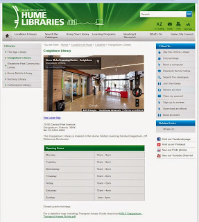 http://www.humelibraries.vic.gov.au/Locations_Hours/Libraries/Craigieburn_Library