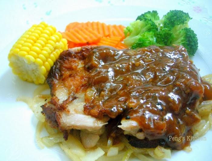 Pengs kitchen black pepper chicken chop forumfinder Gallery