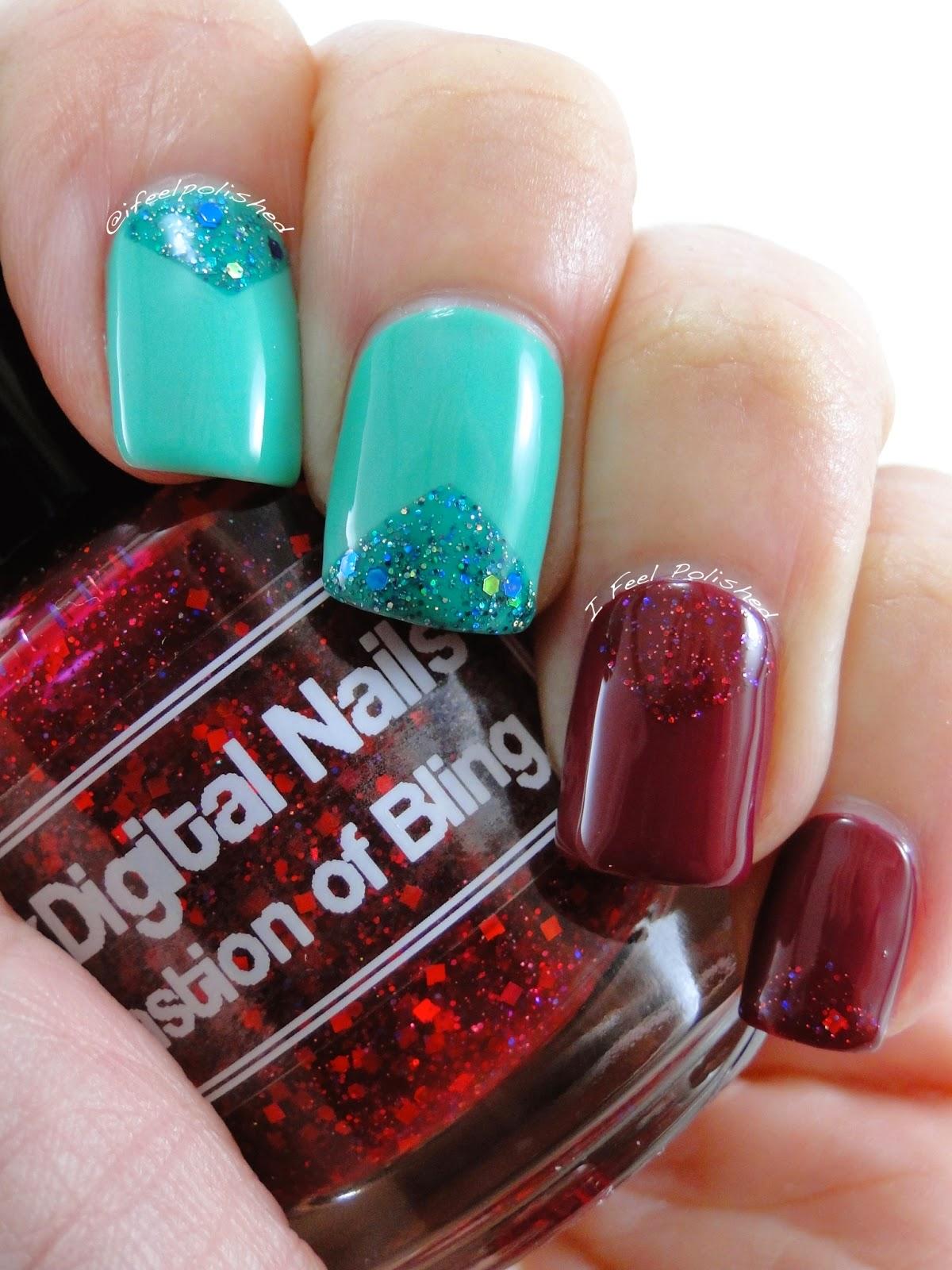Digital Nails Bastion of Bling