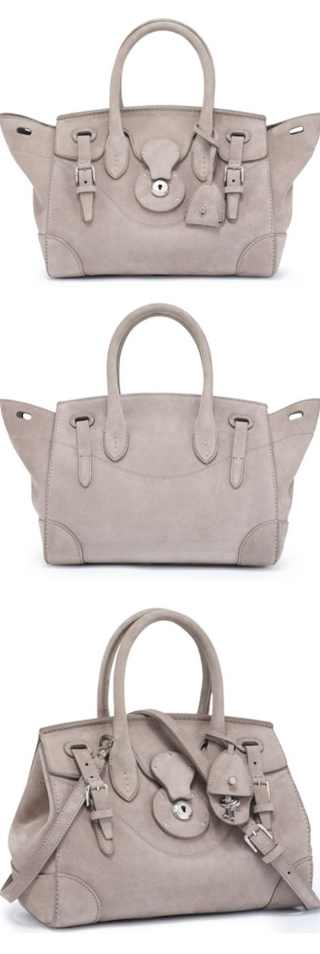 Ralph Lauren Accessories Soft Ricky Handbag