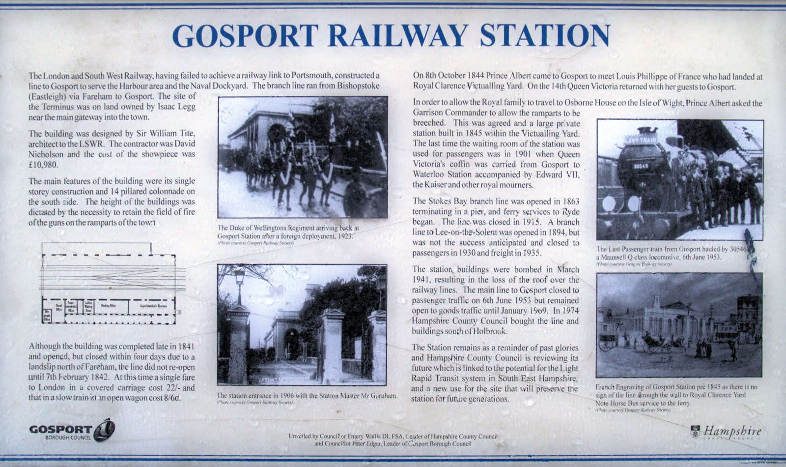 Gosport display board