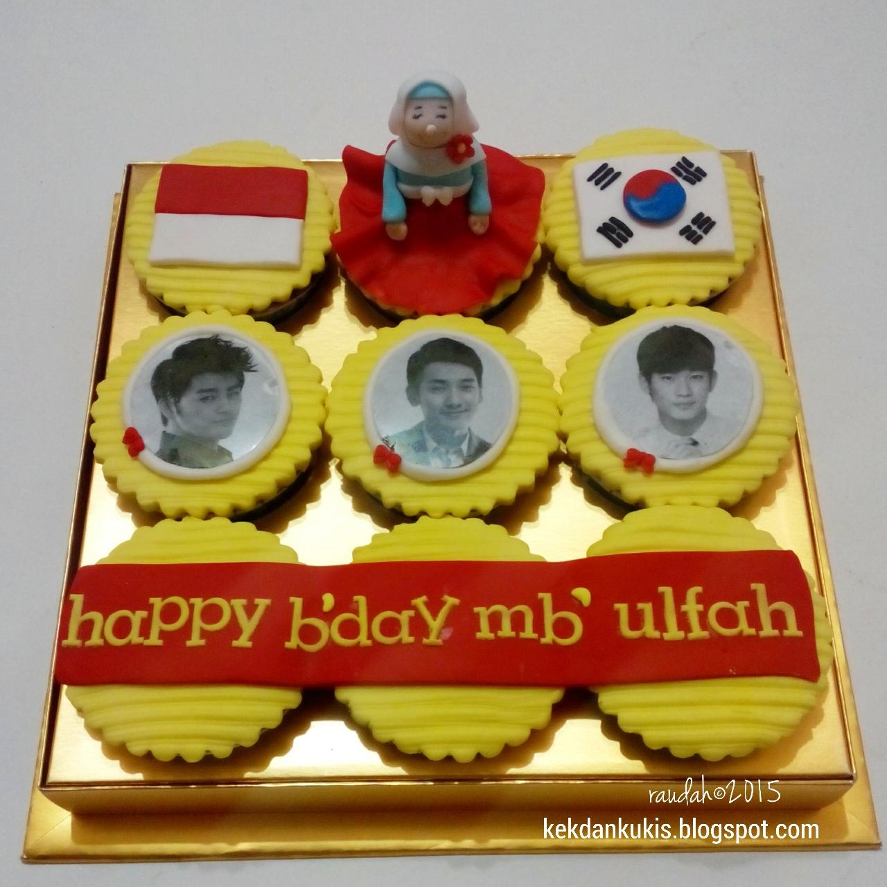 Dapur Cake Dan Cookies Korean Birthday Cupcake