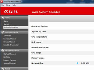 Avira System Speedup 1.2.1.8100 Free Download gratis
