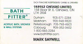 Durham Region Bathroom Remodelling, Liners, Shower Surrounds. Mark Saywell @ Bath Fitter Oshawa