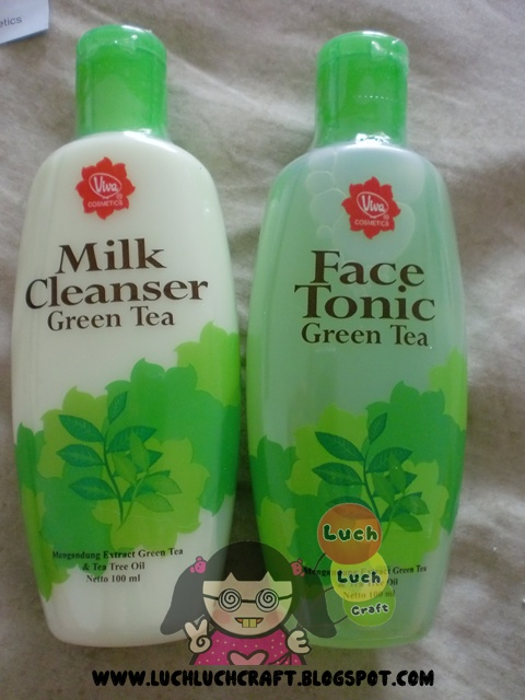 viva green tea milk cleanser