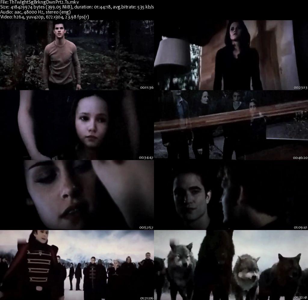 Twilight movie size