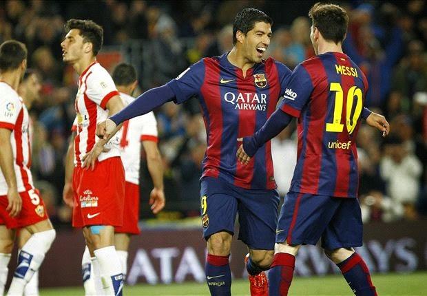 Barcelona 4-0 Almeria