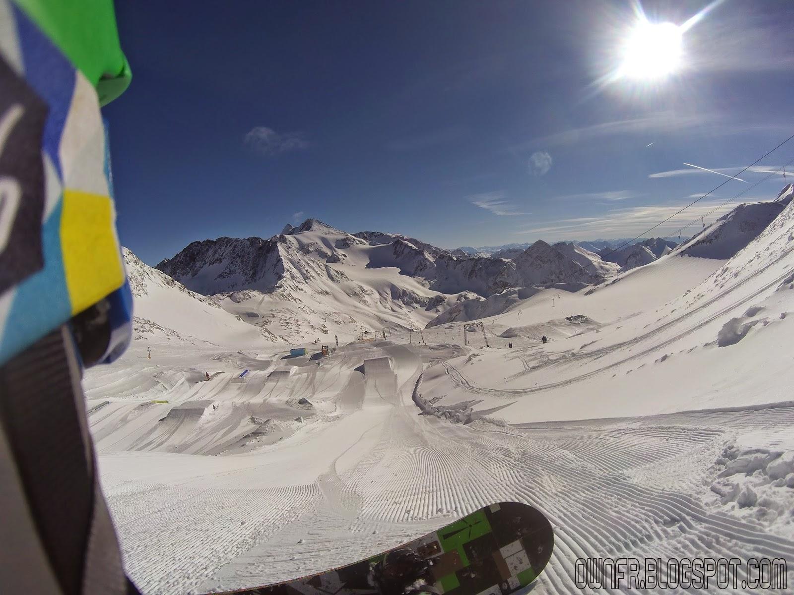 Snowpark Stubaier Gletscher 2015